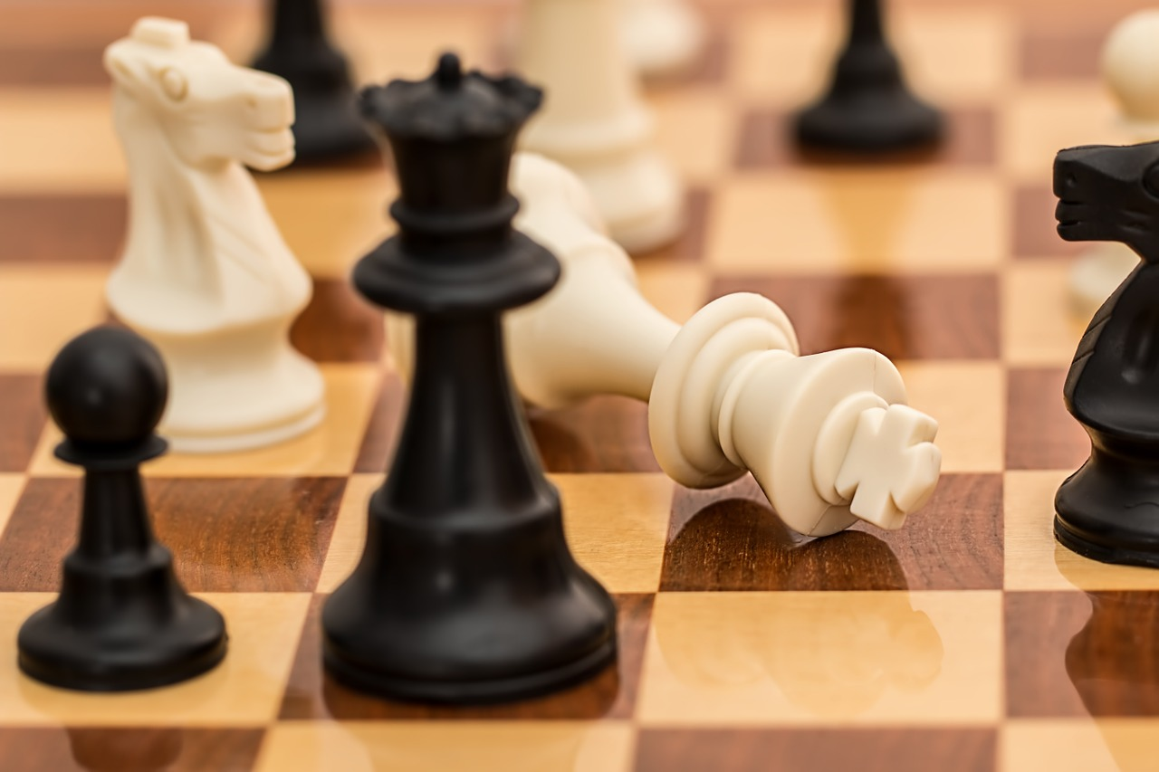 Chess Pieces Checkmate