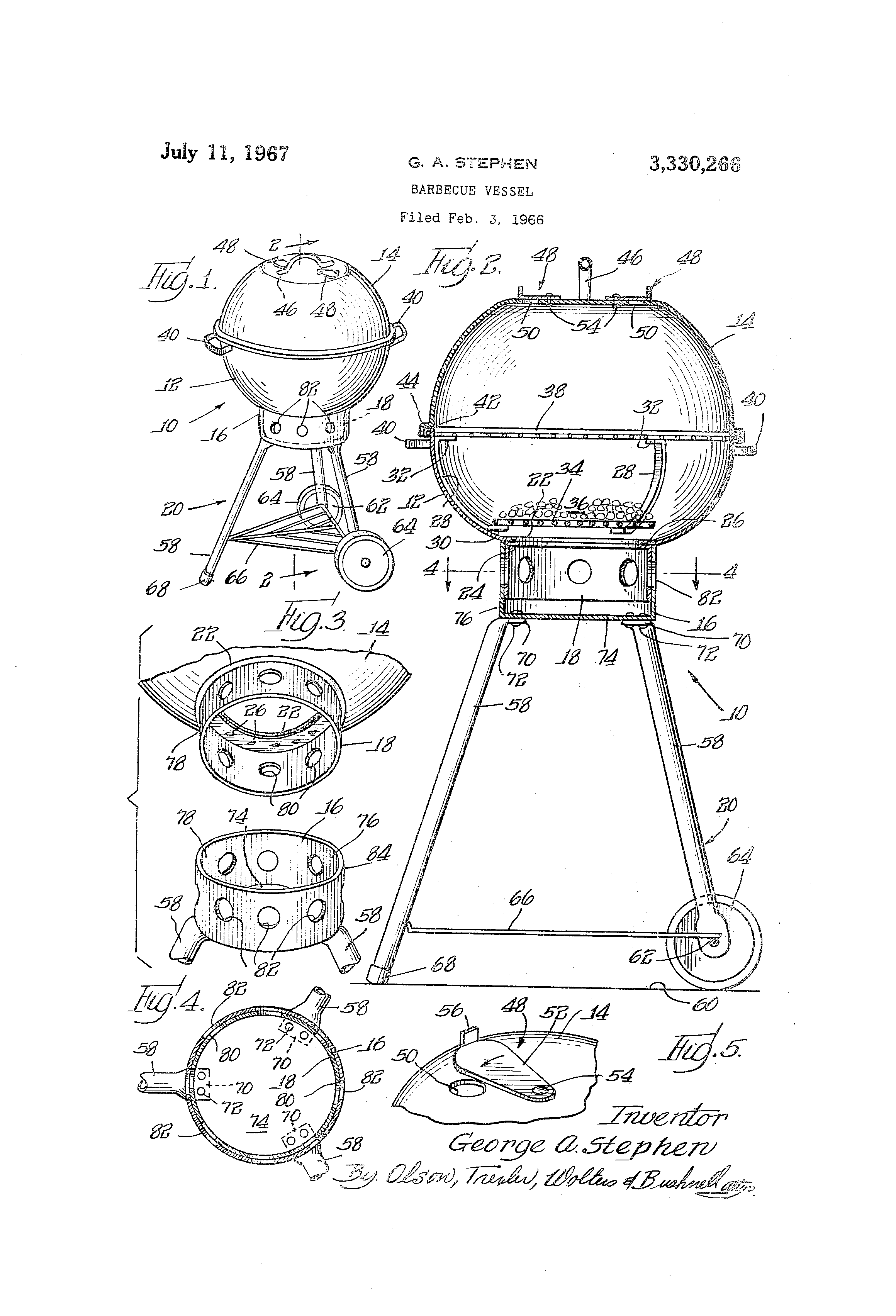 Independence Day Innovations - Weber Grill Patent