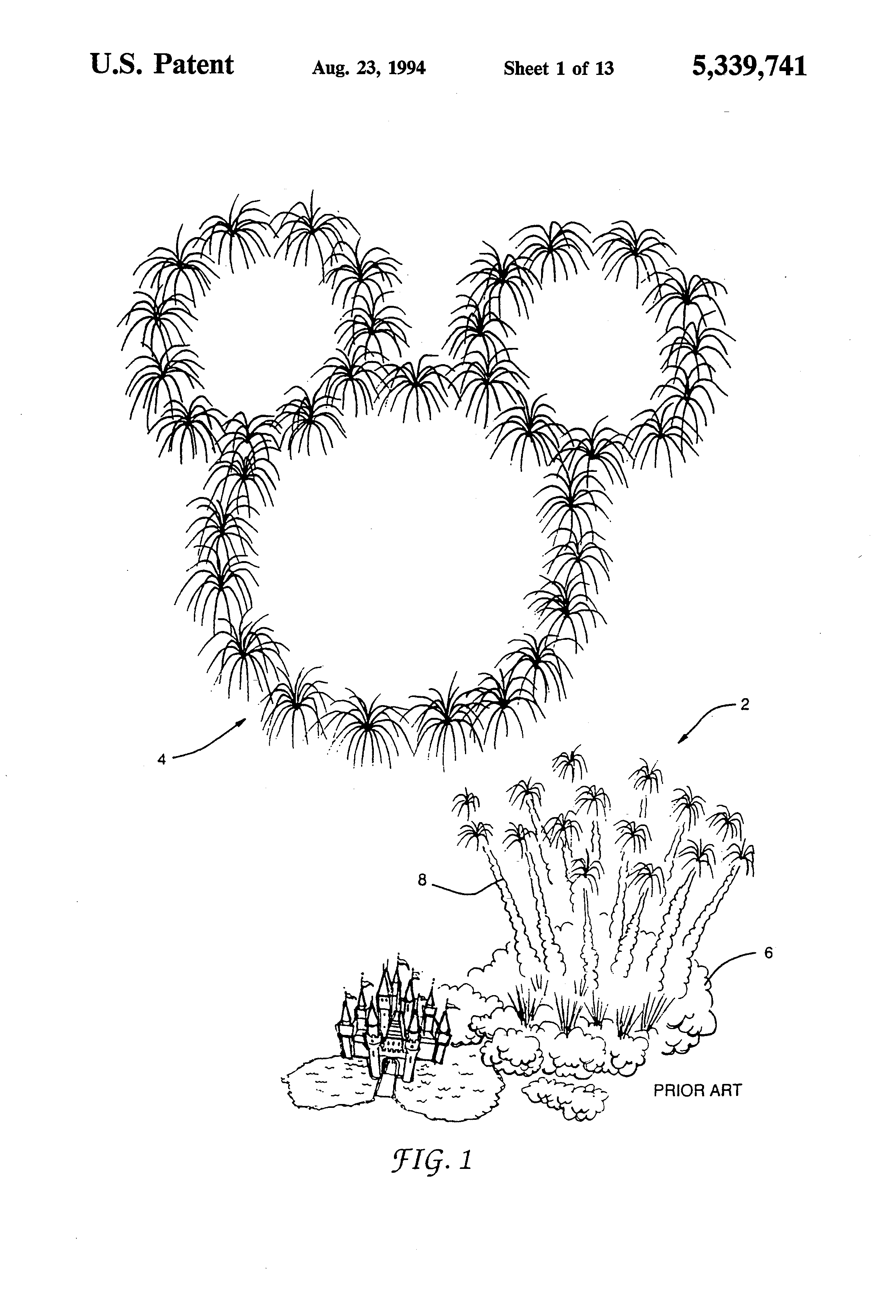 Precision Fireworks Display System Having a Decreased Environmental Impact Patent