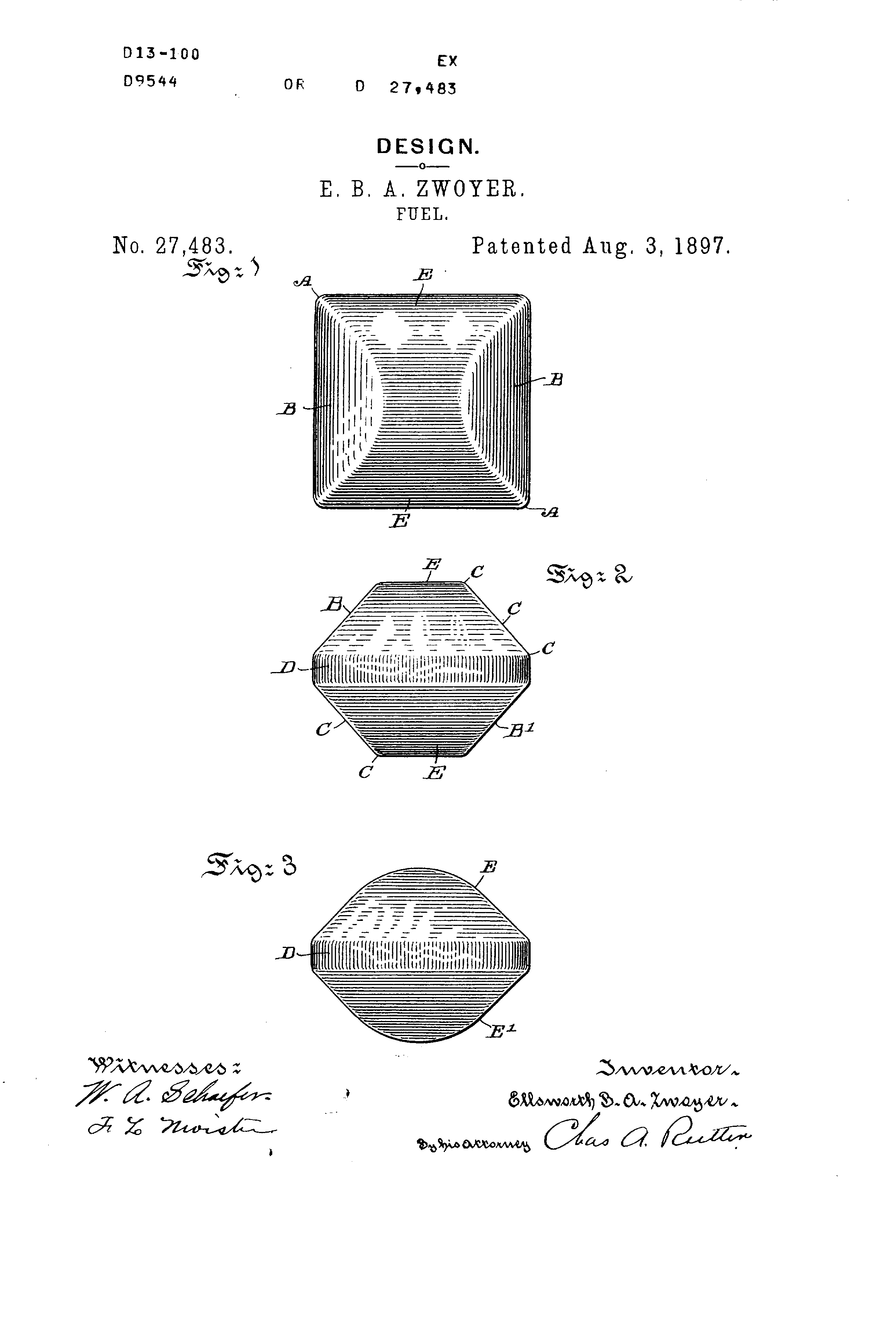 Independence Day Innovations - Charcoal Briquette Patent