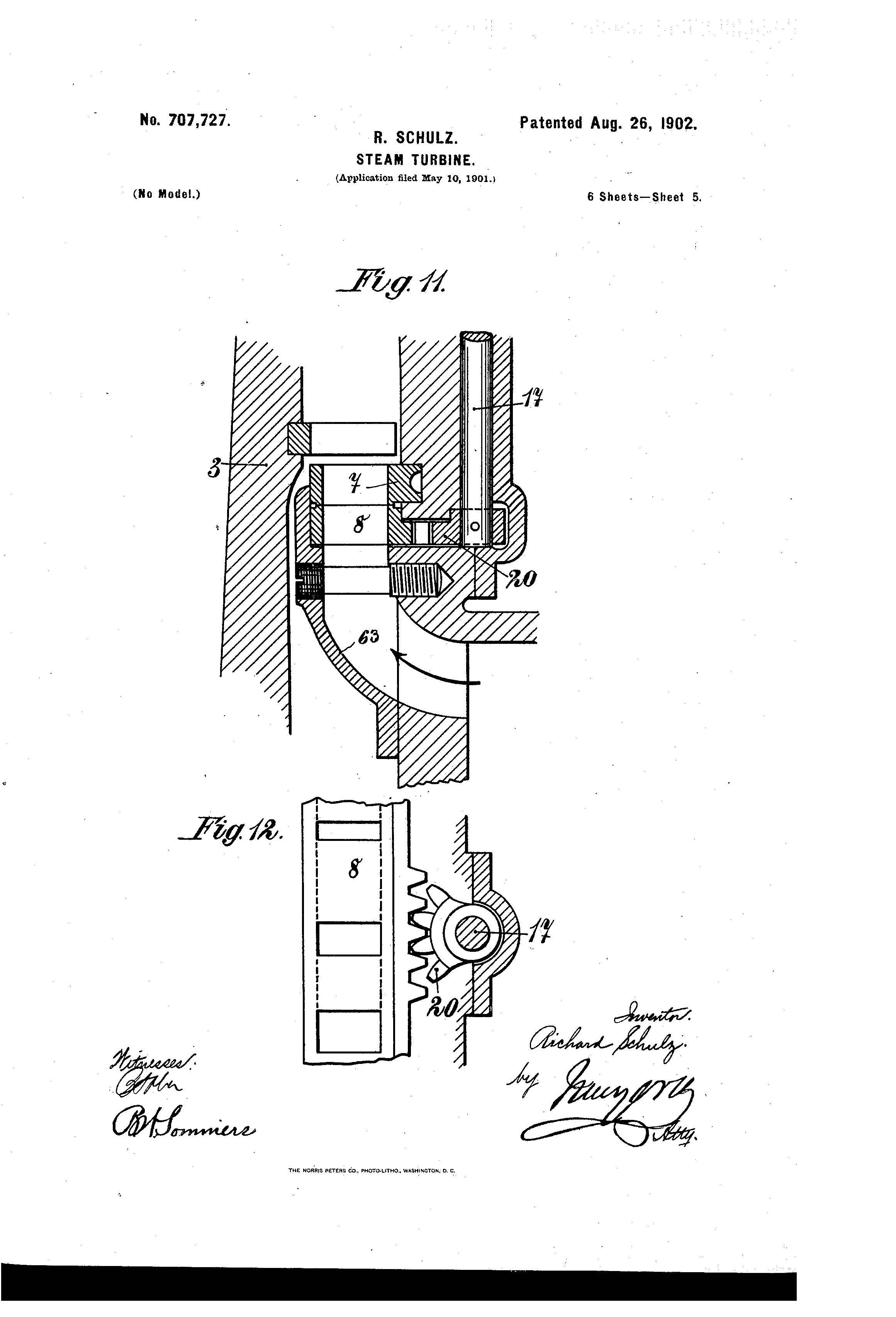 Patent of the Day Steam Turbine