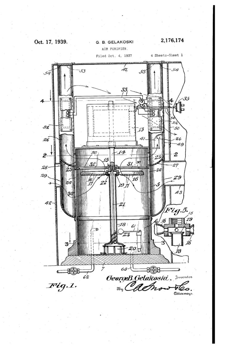 patent of the day  air purifier