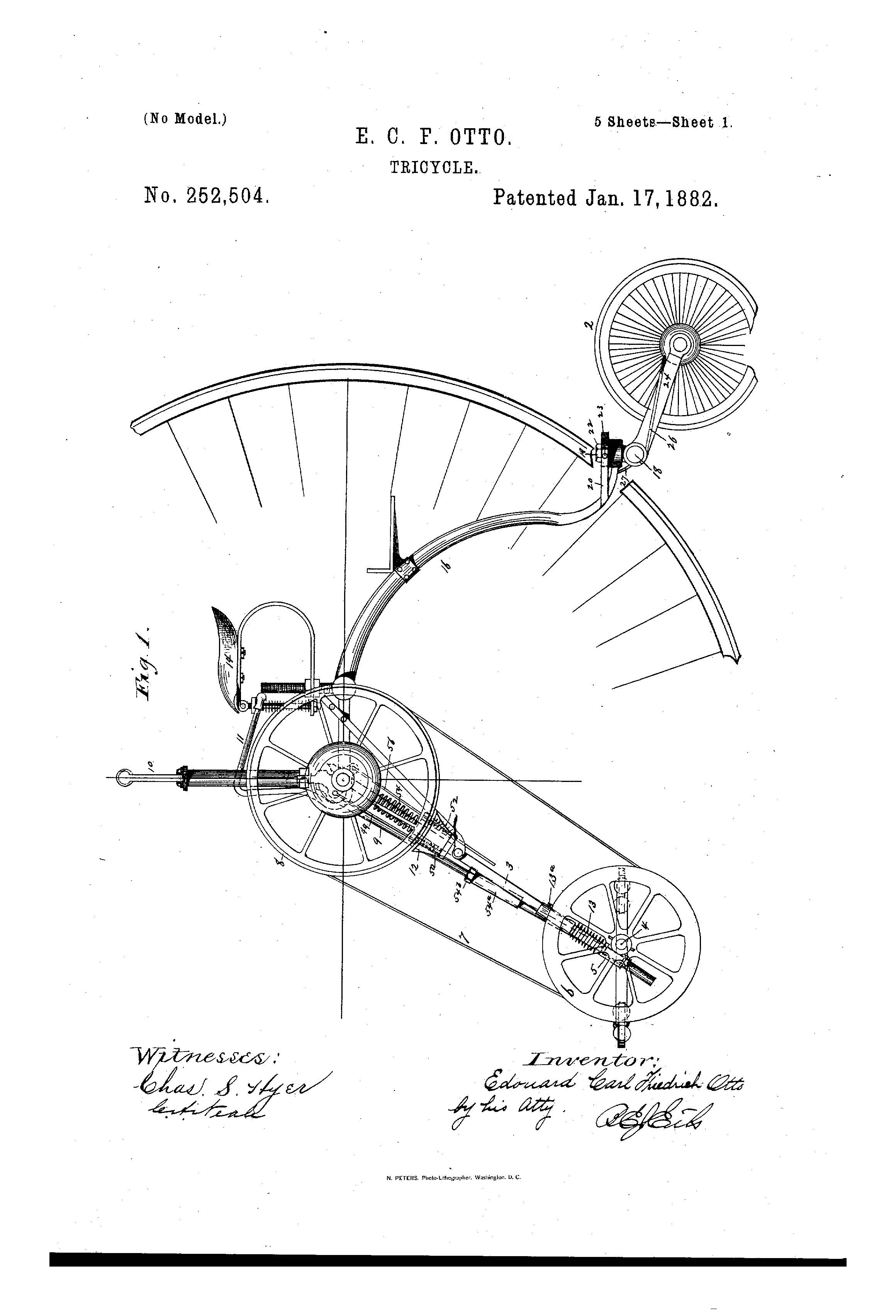 Patent Illustration Tricycle_Page_1 patent of the day tricycle suiter swantz ip