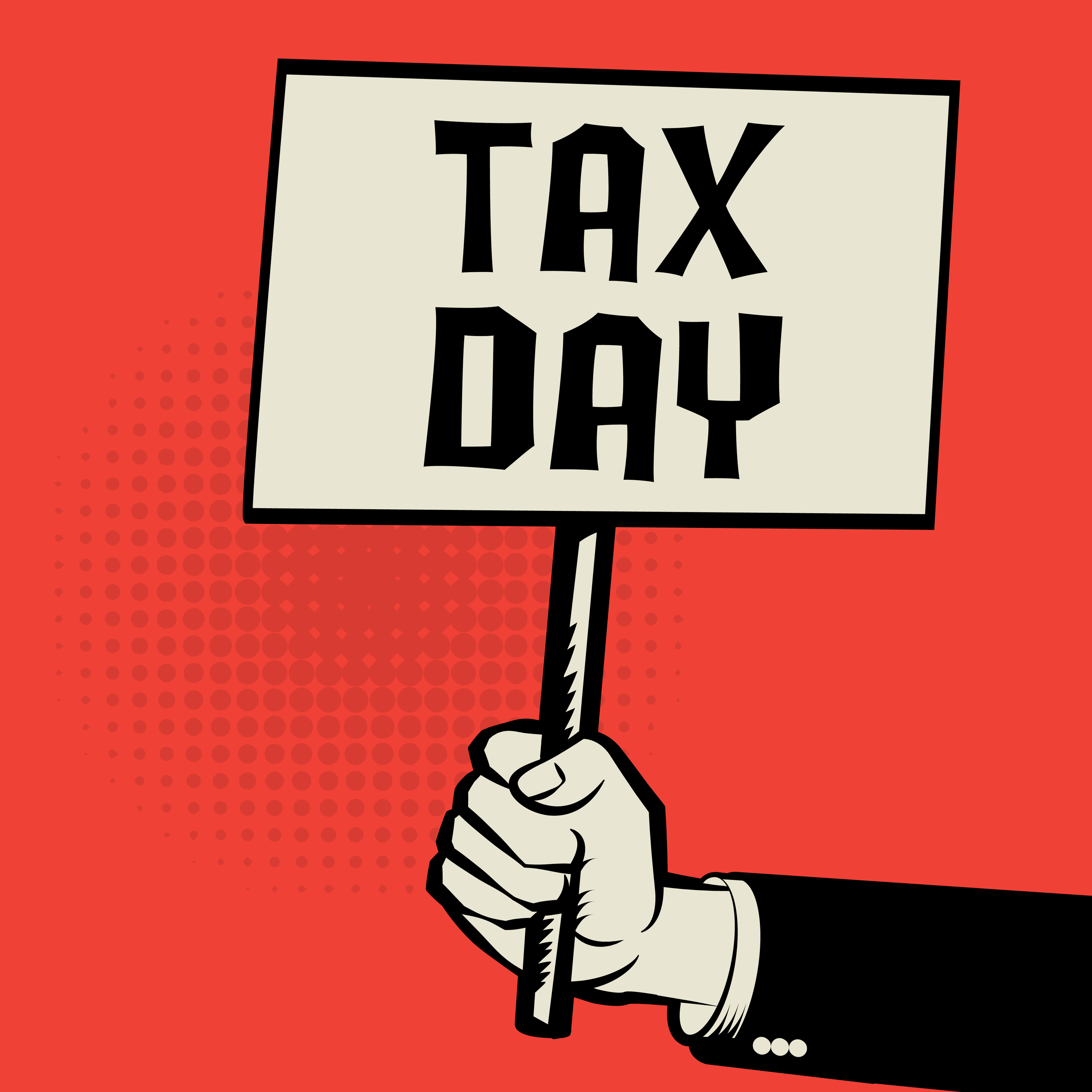 Tax Day flyer