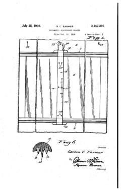 Automatic Blackboard Eraser Patent