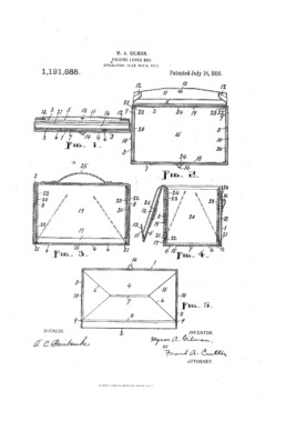 Lunch Box Patent
