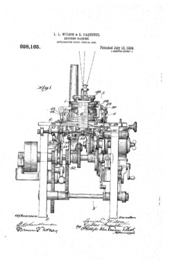 Knitting Machine Patent