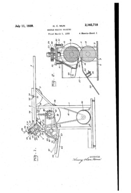 Noodle Making Machine Patent