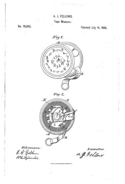 Tape Measure Patent