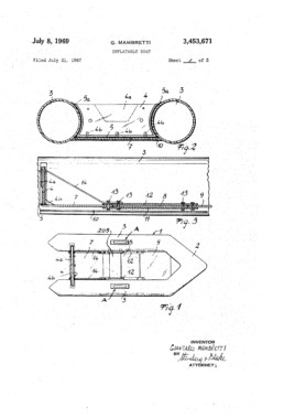 Inflatable Boat Patent