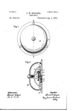 Door Bell Patent