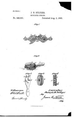 Mustache Curler Patent