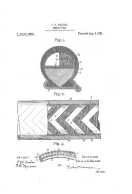 Vehicle Tire Patent
