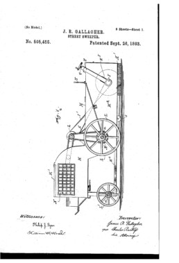 Street Sweeper Patent