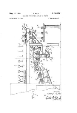 Caramel Apple Machine Patent