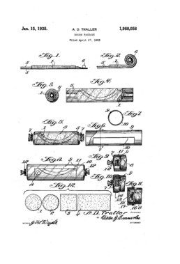 Dough Package Patent