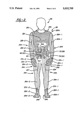Electrical Heating Garment Patent
