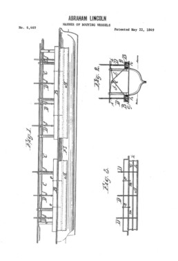 Abraham Lincoln Buoying Vessels Patent