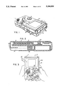 Gameboy Patent