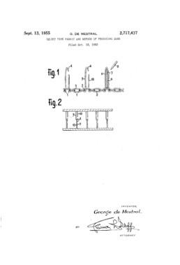 Velcro Patent