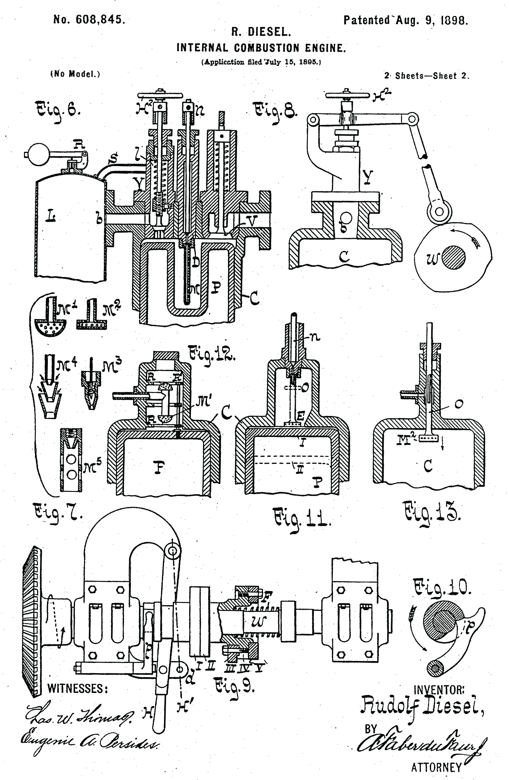 Internal Combustion Engine Patent