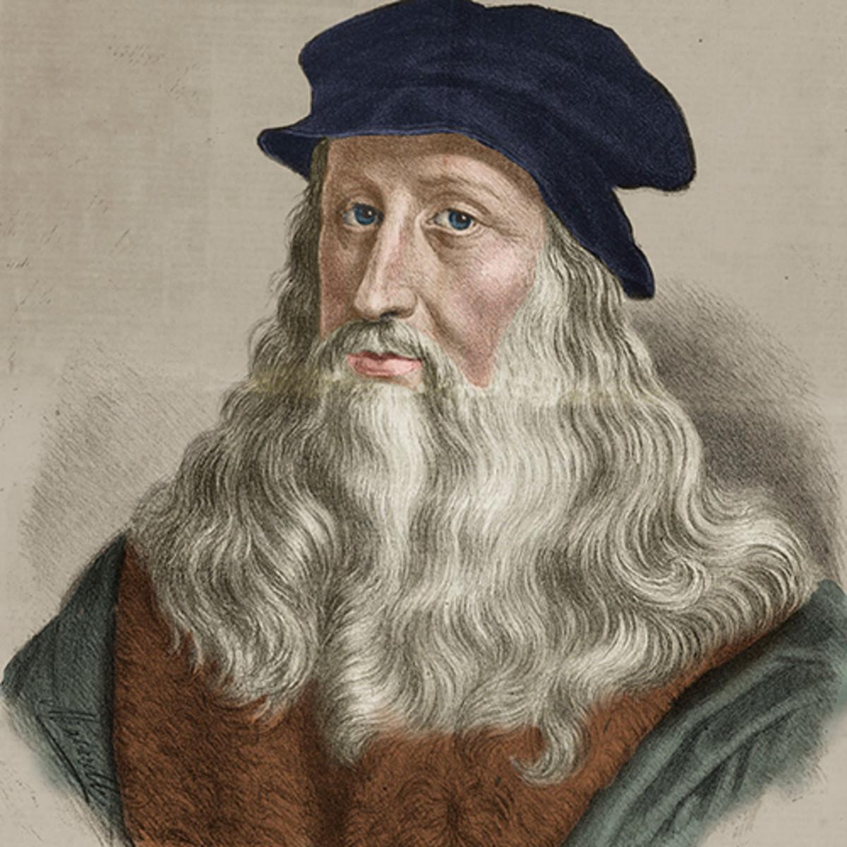 LGBTQ+ Inventors - Leonardo da Vinci